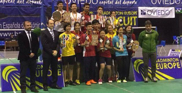 Foto podio Oviedo