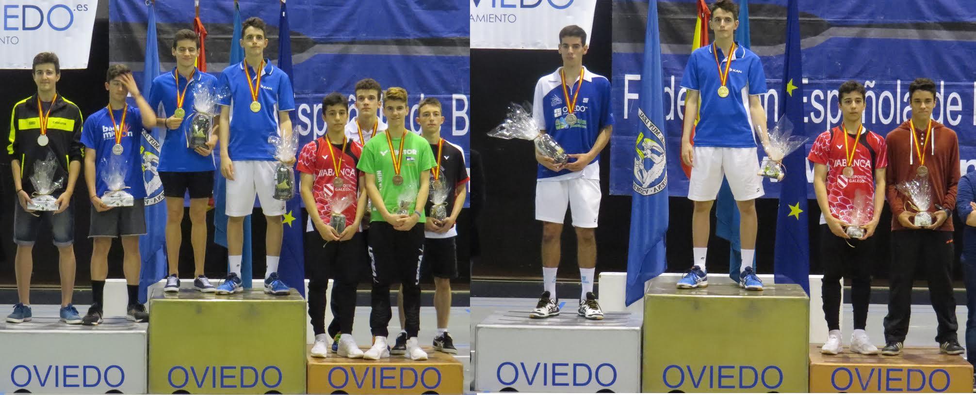 podio im Oviedo oro